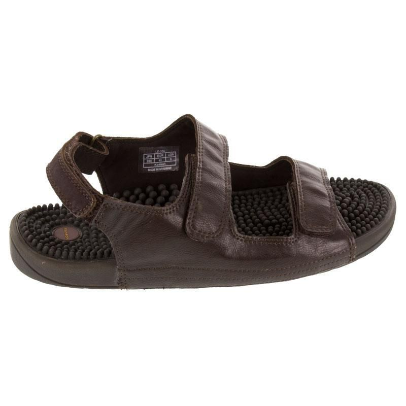 Kenkoh Balance Brown Massage Sandal right side view