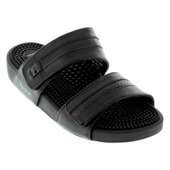 Kenkoh Sport Braided Black Sandals