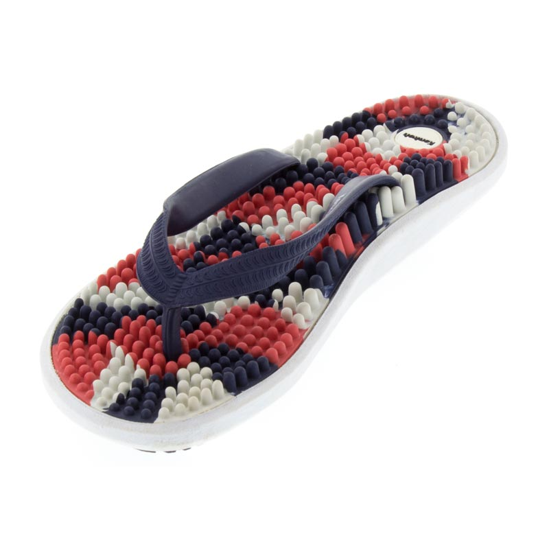 Kenkoh Luna USA Massage Sandal left front view