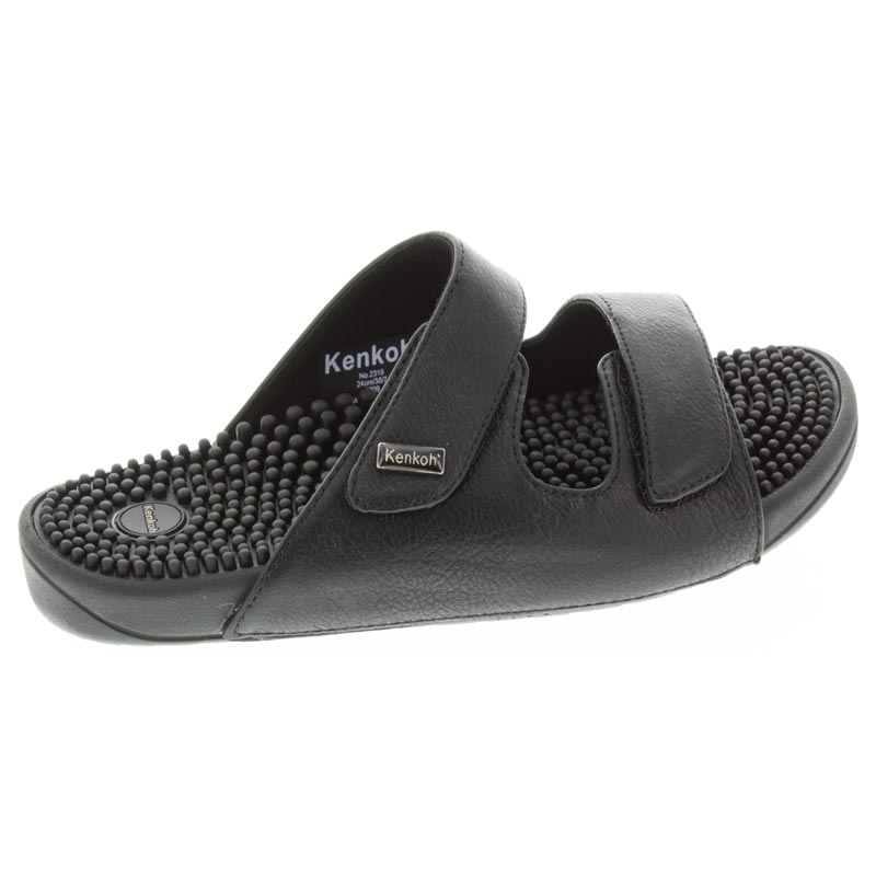 Kenkoh Serenity 2 Black Massage Sandal right side view