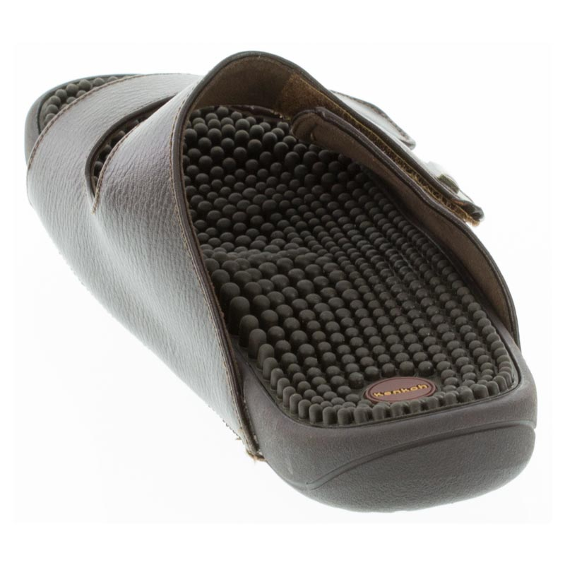Kenkoh Serenity 2 Dark Brown Massage Sandal back view