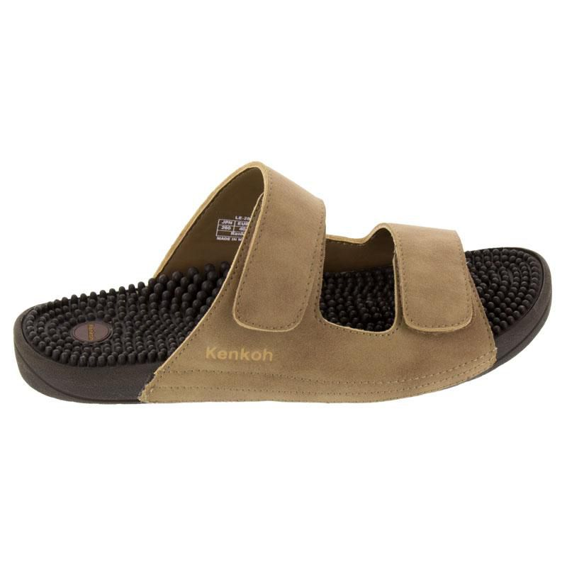 Kenkoh Serenity Light Brown Massage Sandal right side view