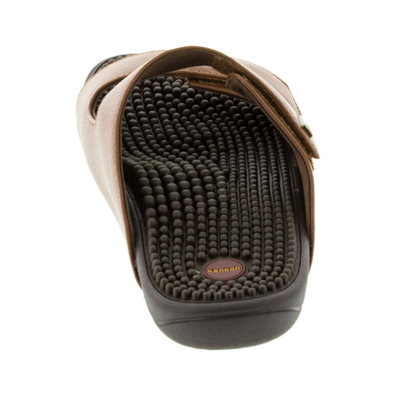 Kenkoh Serenity 2 Brown Massage Sandal back view