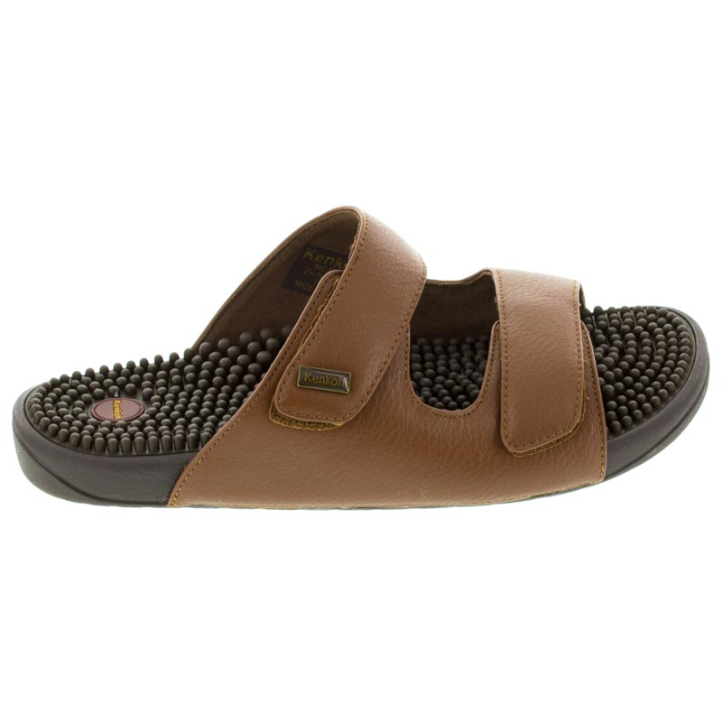 Kenkoh Serenity 2 Brown Massage Sandal right side view