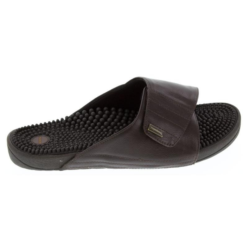 Kenkoh Soul 2 Brown Massage Sandal right side view