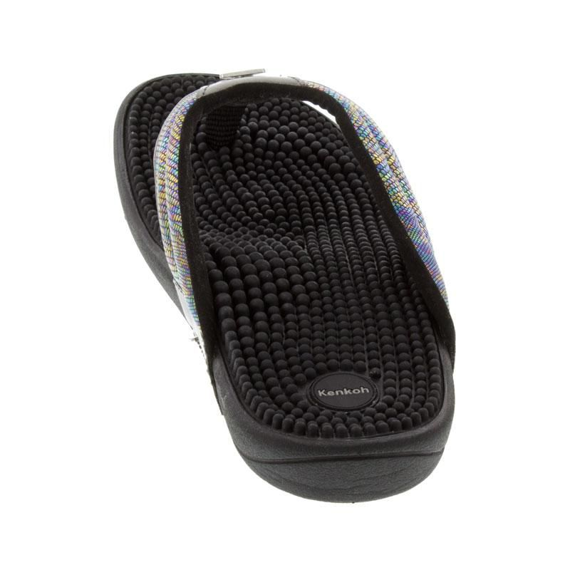Kenkoh Spirit Metallic Massage Sandal back view
