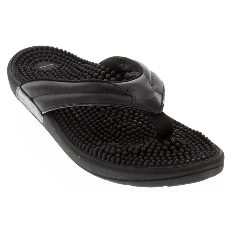 Kenkoh Spirit Black Sandals