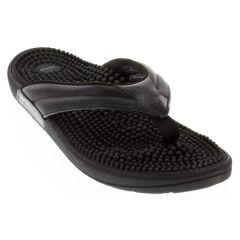 744959f7862 Kenkoh Spirit Black Sandals - KenkohRelief.com