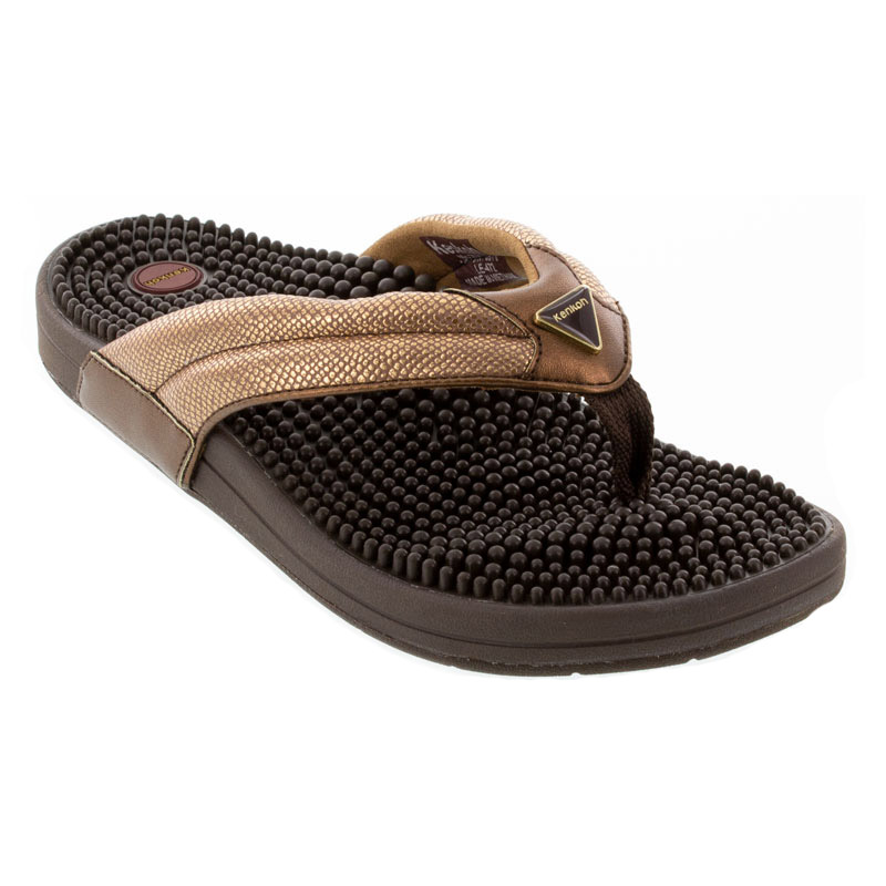 Kenkoh Spirit V Bronze Metallic Sandals