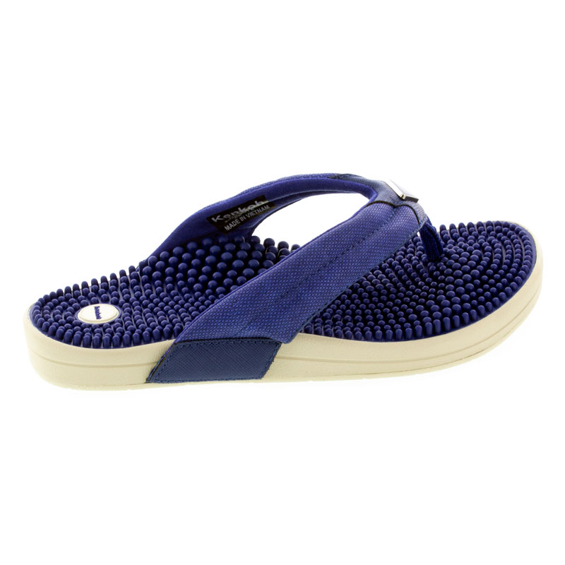 Kenkoh Spirit V Royal Blue Massage Sandal right side view