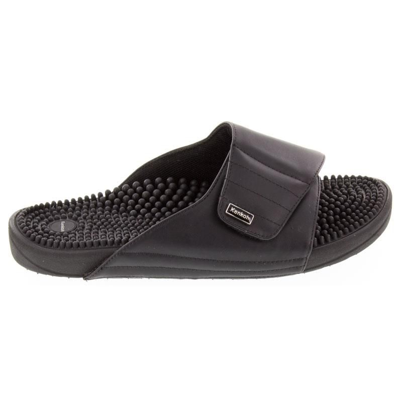 Kenkoh Soul 2 Black Massage Sandal right side view